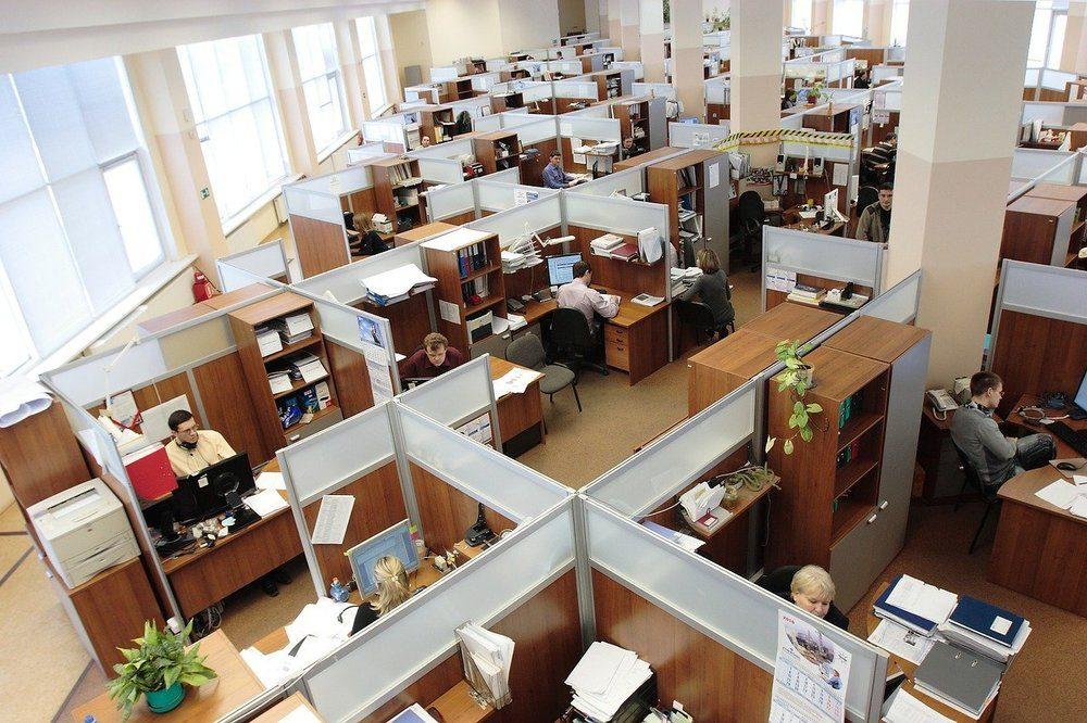 Den nya tidens arbetsplats