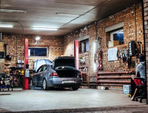 Lämna in bilen till en bilverkstad som fixar tvåorna
